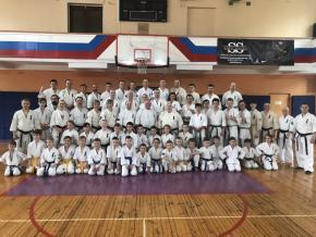 Участие клубов Федерации Кёкусинкай Мурманской области на сборах СЗФО в Санкт-Пе