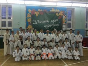 Учебно-тренировочные сборы по кумитэ Кёкусинкай провёл заслуженный мастер спорт