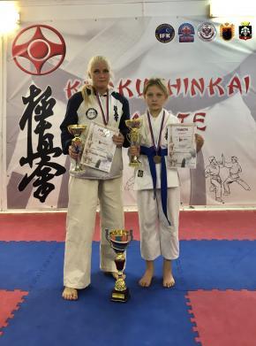 Варганова Полина из Мурманского клуба «Сатори» - 24 Октября участвовала в Кубке