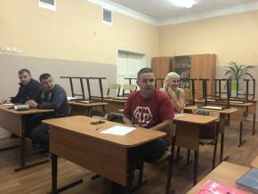 Собрание руководителей клубов Федерации Кёкусинкай Мурманской области  состояло