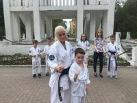 На этих выходных в парке города Мурманска Прошла  «открытая  тренировка»
