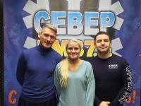 В гостях на Радио : Север ФМ- руководители клубов Североморска (19февраля)