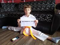 конкурс  #антивирус2020, организованного Чемпионкой Мира, Анжеликой  Сабаевой